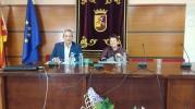 Con Elena Hernández Sandoica, Calatayud, 1-7-2016