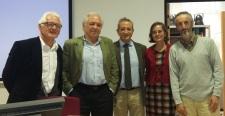 Congreso Internacional ANIHO, con Antonio Duplá, José Álvarez Junco, Gloria Mora y Jordi Cortadella, Vitoria, 29-10-2015