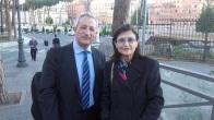 Giuliana di Febo e Ignacio Peiró, Roma, 3-5-2016