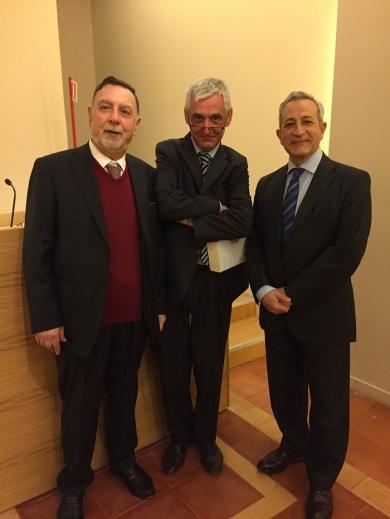 Romano Ugolini, Antonino De Francesco, presentación del libro Cadice e oltre, Roma 3 mayo 2016