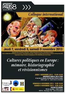 Colloque Paris 2013