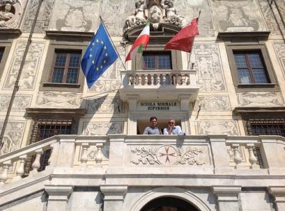 Ignacio Peiró y Miquel Marín Gelabert, Scuola Normales Superiore, 9-6-2014