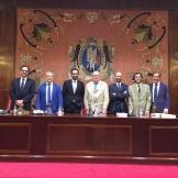 Tribunal de la Tesis Doctoral de César Rina, Universidad de Navarra, 22-6-2015